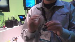 New Sony W-Series Walkman MP3 player at CES 2009