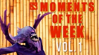 Dota 2 Moments Of The Week (vol. 1)