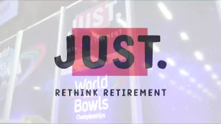 JUST 2018 World Indoor Bowls Championships: Session 33