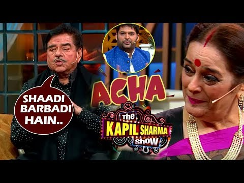The Kapil Sharma Show Season 2: Shatrughan Sinha's Wedding Tips | Poonam Sinha's Shocking Reaction Mp3