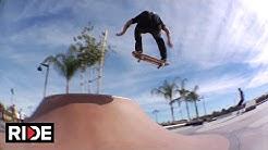 "Skatepark Check with Jordan Hoffart - The Encinitas Skate Plaza ""Poods Park"""