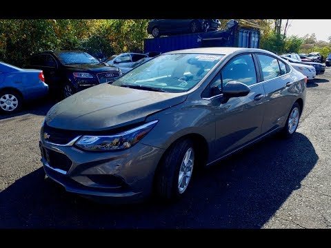 2017 Chevrolet Cruze . Автомобили с аукциона Копарт (copart.com ). Автомобили из Америки.
