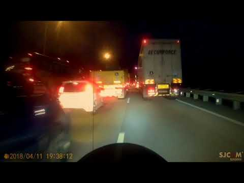 Cbr1100xx jam in traffic