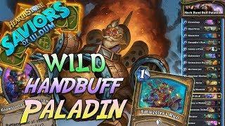 Wild Mech HandBuff Paladin Deck   Saviors of Uldum   Hearthstone