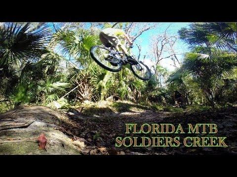 Florida Mountain Biking   SOLDIERS CREEK   2013