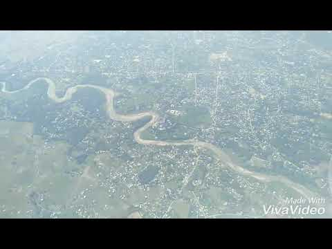 Aeroplane view of Dimapur City