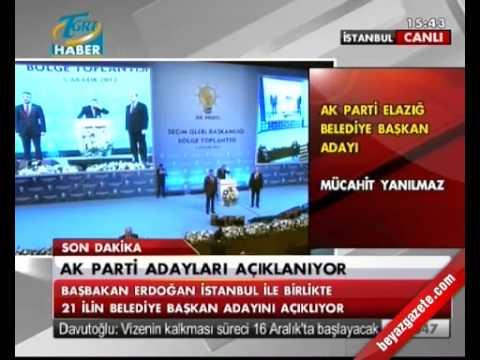 2014 AK Parti Elazığ Belediye Başkan Adayı Mücahit Yanılmaz