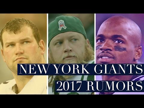 New York Giants 2017 Pre Draft  Rumors