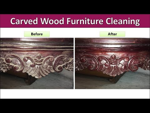 How To Clean Wood Furniture At Home | Easy DIY Tips & Tricks