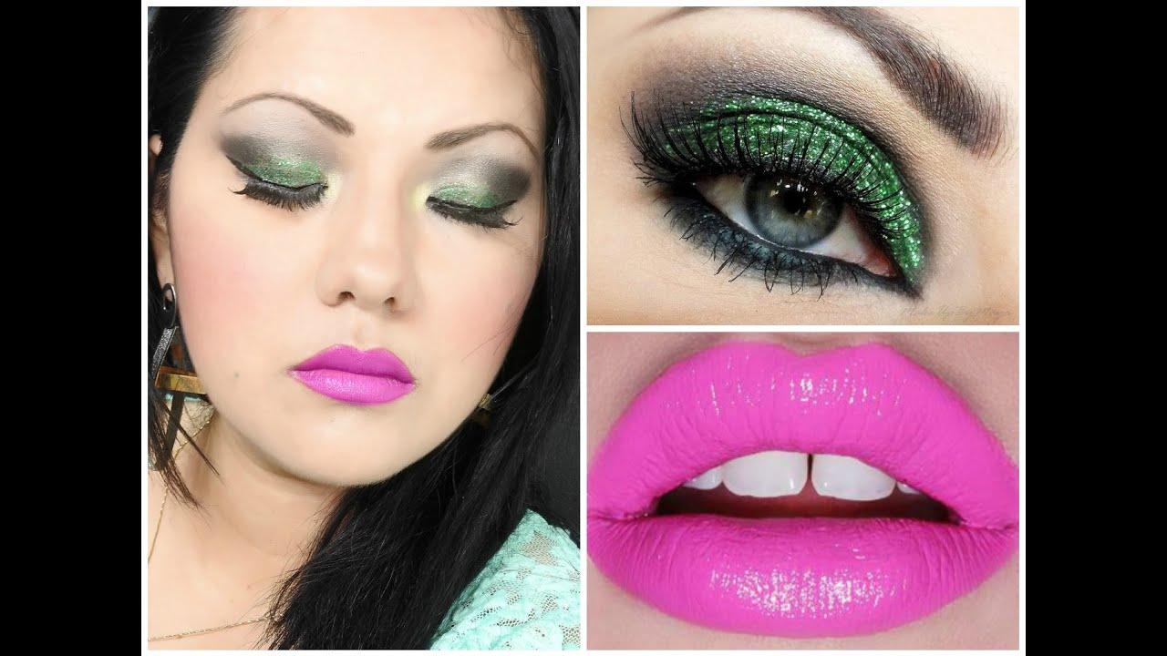 Resultado de imagen para maquillaje con glitter
