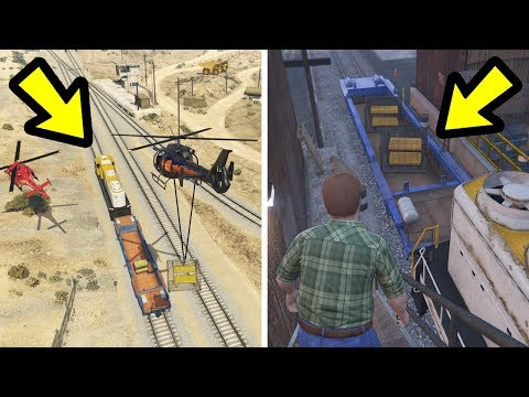 Where Does the Train take the Gold in The Big Score?