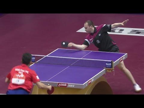 Paul DRINKHALL ENG vs  Chun Ting WONG HKG - WTTC 2015 Suzhou [HD][Full Match]