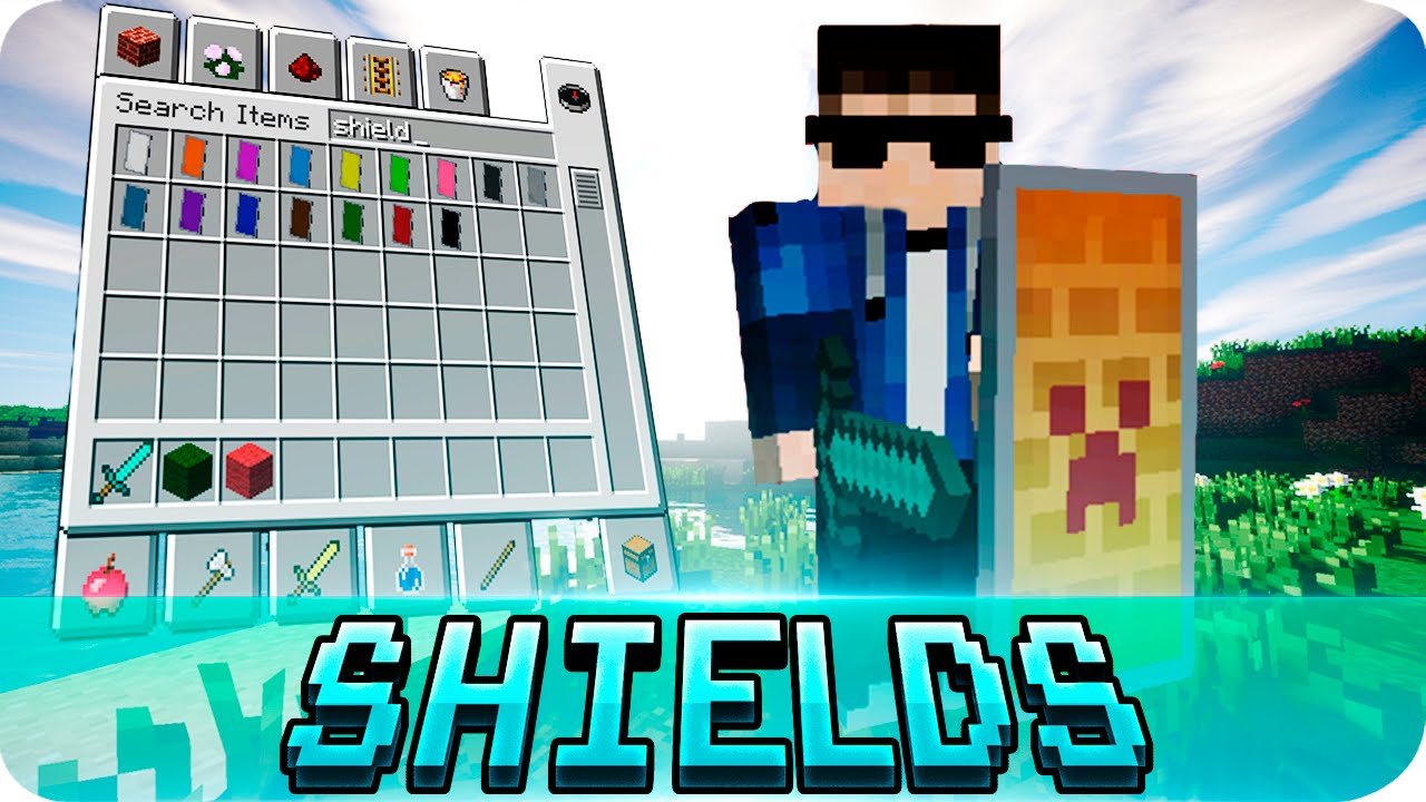 Minecraft Update With Shields Bukalah R