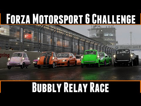 Forza Motorsport 6 Challenge Bubbly Relay Race