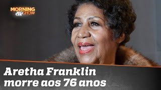 Lenda da soul music, Aretha Franklin morre aos 76 anos thumbnail