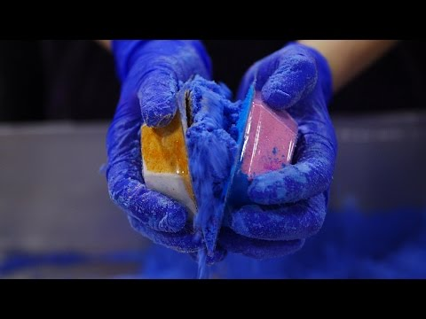 Lush How It's Made: The Experimenter Bath Bomb