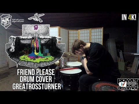 Ross Turner - twenty one pilots - Friend Please Drum Cover In 4K PERFECT ENDING