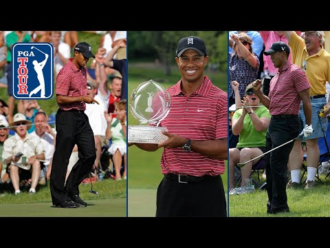 Tiger Woods' incredible flop leads to victory at 2009 Memorial Tournament