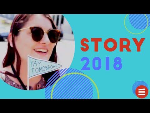 STORY 2018 Conference in Nashville - Big Slate Media Vlog