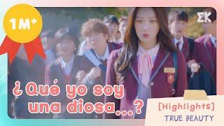 Highlights ¿Que yo soy una diosa...?  EntretenimientoKoreano  True Beauty EP1