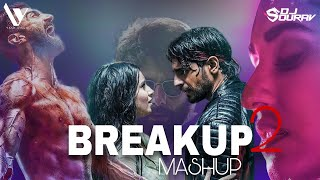 Breakup Mashup 2 | 2021 | Dj Sourav X Yash Visual | #Breakup