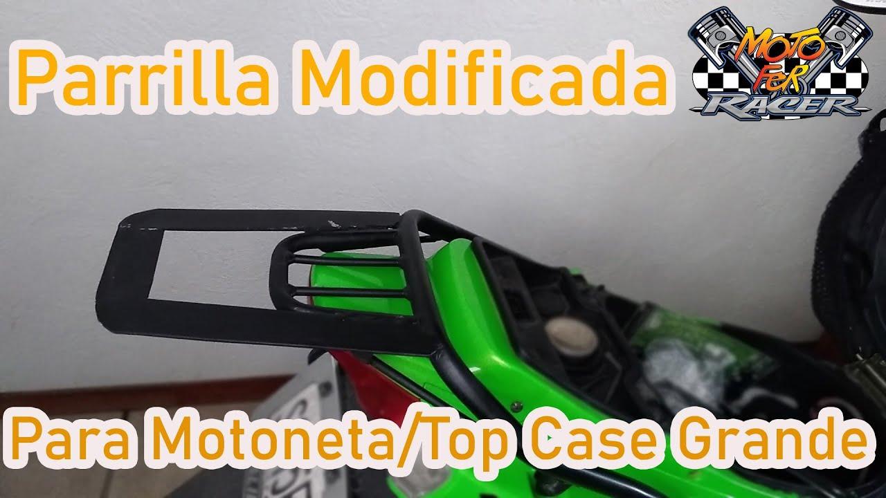 🛵Parrilla Motoneta/Modificación/Top Case Grande 🙀