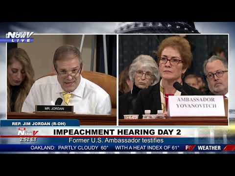 'I'M ABOUT TO GAVEL YOU DOWN': Schiff warns Jordan during impeachment hearing - Видео онлайн