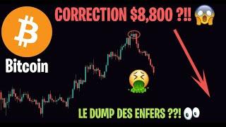 LE GROS DUMP DU BITCOIN !! CORRECTION OU REPRISE BAISSIÈRE ??!  - Analyse Crypto Altcoin - 17/02
