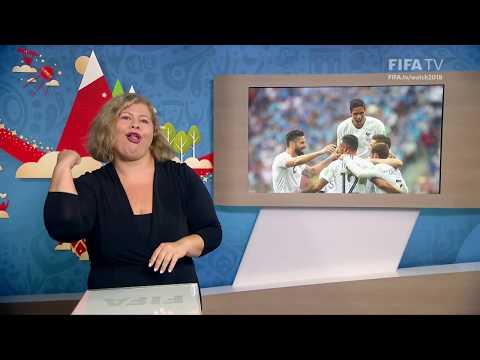 FIFA WC 2018 - URU vs. FRA – for Deaf and Hard of Hearing - International Sign