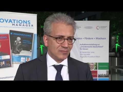 Tarek Al-Wazir, Hessischer Minister für Wirtschaft, Energie, Verkehr und Landesentwicklung