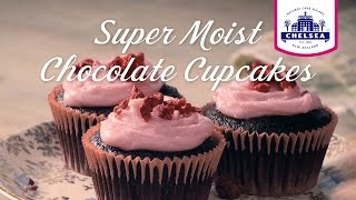 Super Moist Chocolate Cupcake Recipe Chelsea Sugar