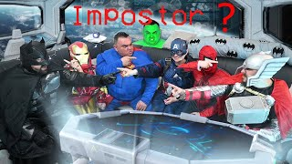 Superheroes In Among Us VS Superhero Impostor
