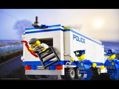Lego City Police - the mobile police department