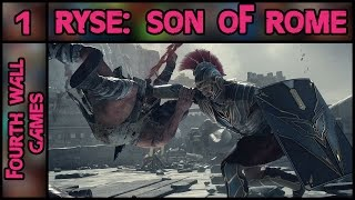 Ryse: Son of Rome PC Gameplay - Part 1 - 1080p