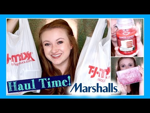 TJ Maxx & Marshall's Candle and Home Haul! Yankee Candle, DW Home, AND A PLOT TWIST?!