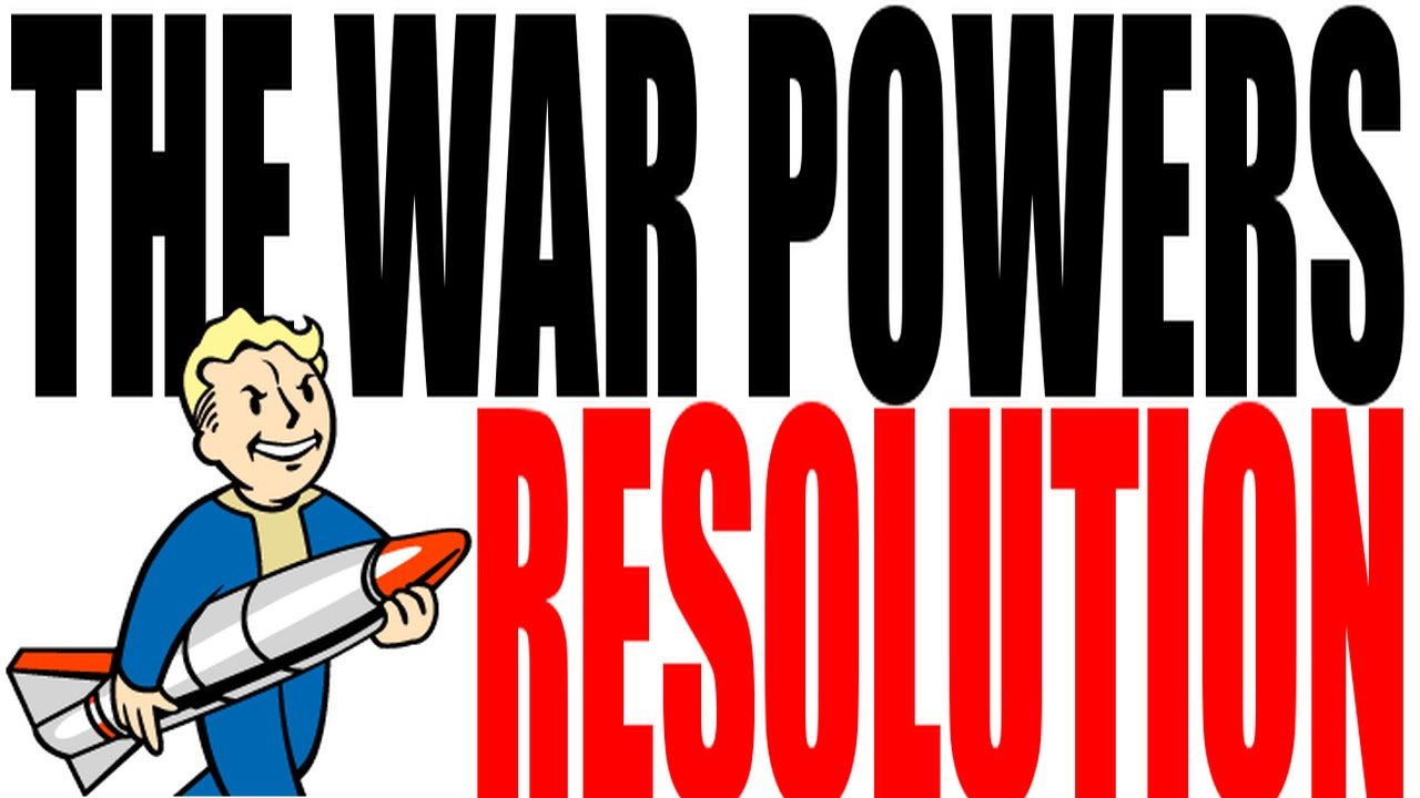 The War Powers Resolution Explained: US History Review - YouTube