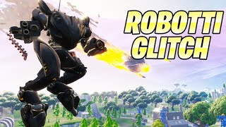 ROBOT * GLITCH *-HOW TO FLY WITH A ROBOT | Fortnite United Kingdom