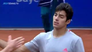 Dramatic Match Point Saves in Cristian Garin Win vs Zverev | Munich 2019