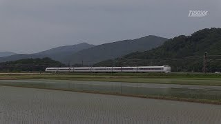 JR西日本 681系 特急しらさぎ 北陸本線 河毛-高月,虎姫-河毛 -2018.05.27-