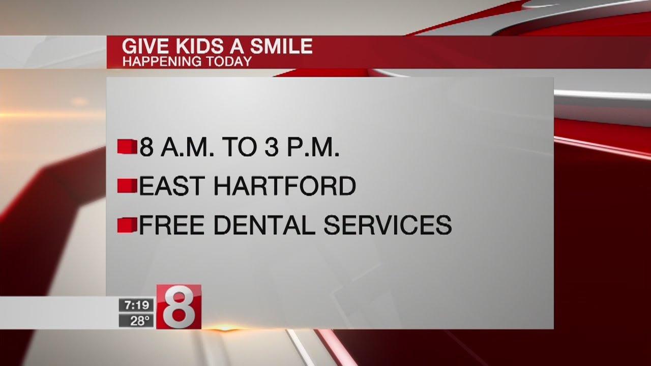 Free dental clinic for children in East Hartford Saturday - Dauer: 2 Minuten, 11 Sekunden