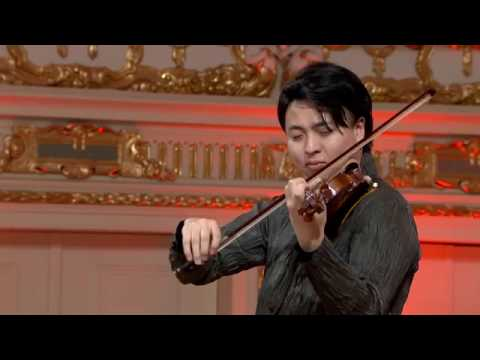 Seiji Okamoto (Japan) - Stage 1 - International H. Wieniawski Violin Competition STEREO