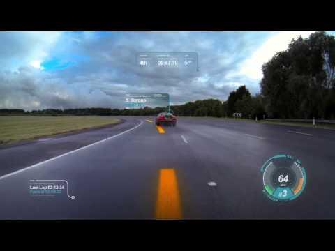 TestMiles | Automotive News: JAGUAR VIRTUAL WINDSHIELD (3D Cluster)