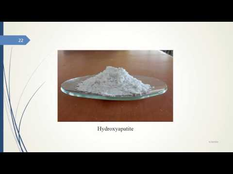 Extraction of Hydroxyapatite from Eggshells for Dental applications