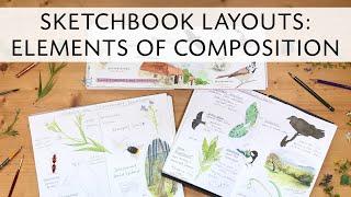 Layout Elements for Sketchbook Composition