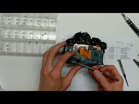 Canon Rebel T5i/700D Disassembly and Main PCB Replacement