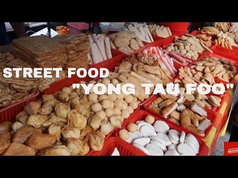 Malaysia Street Food - YONG TAU FOO best food ever