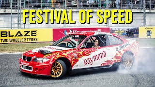 JK Tyre Festival Of Speed | Biggest Motorsport Event In India | Feat. Team Evolution | MotoMazing