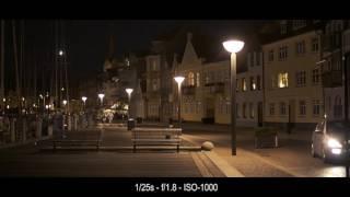 Low Light Test Nikon D810 with 50mm 1.8D lens