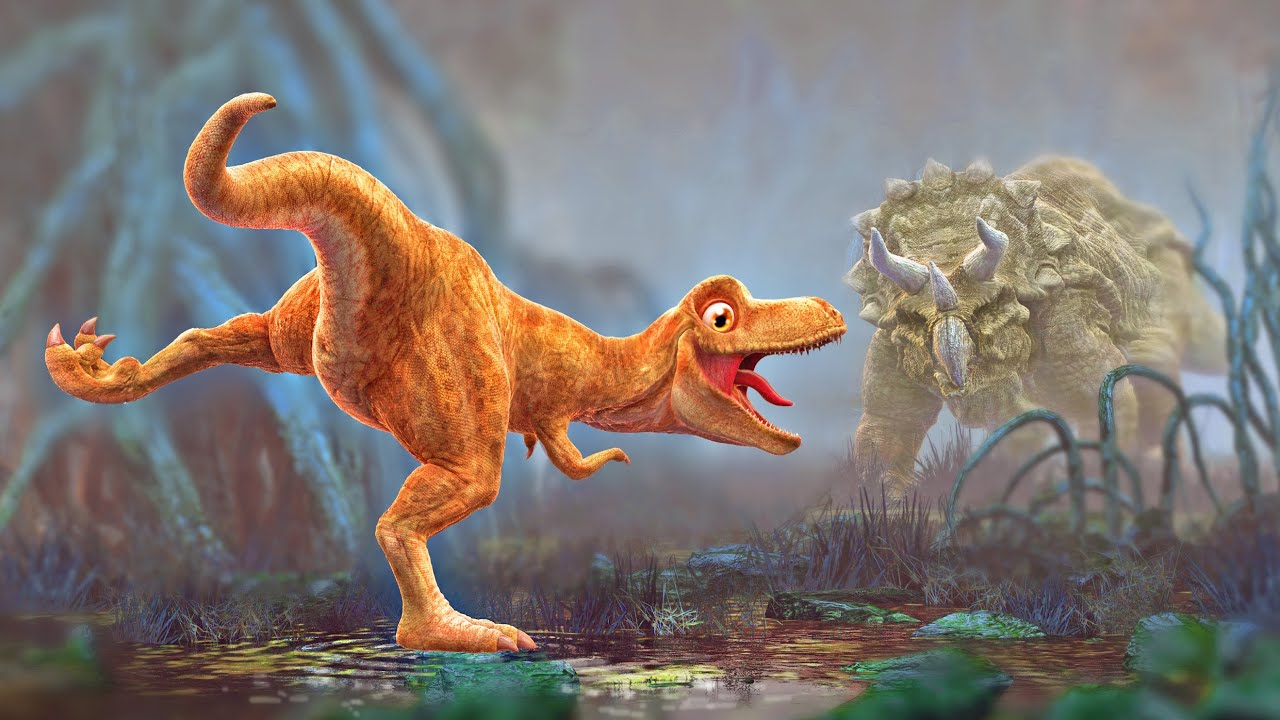 Dinosaur Animation Cartoon For Children Pangea Movie Trailer