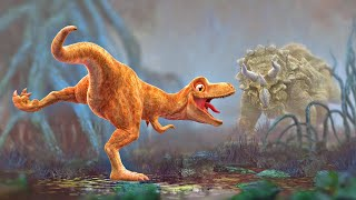 Dinosaur Animation - Cartoon for Children - PANGEA Movie Trailer thumbnail